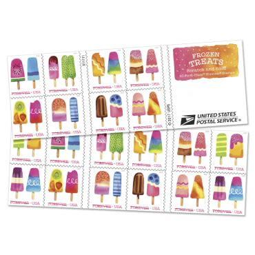 frozen treats stamp   usps.com