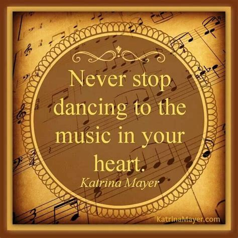 dance to the music never stop dancing to the music in your heart music