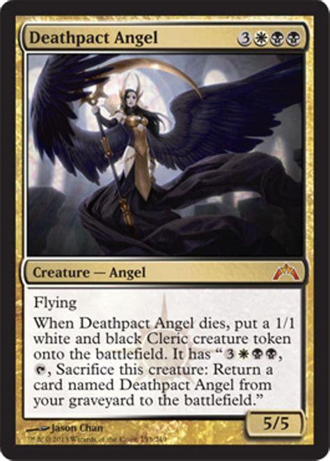 Magic The Gathering Gift Card - mtg black white orzhov deck magic the gathering deathpact angel teysa rare cards ebay