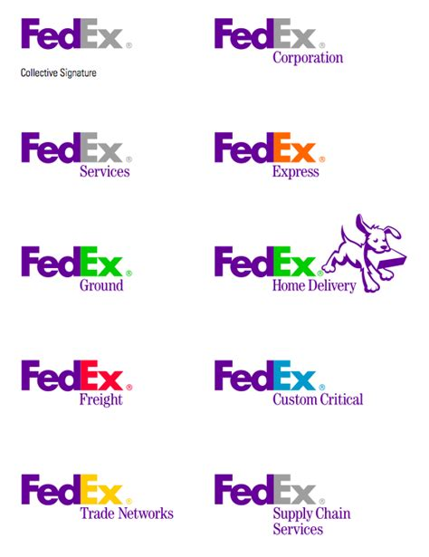 fedex colors is it ok from a brand perspective to different color