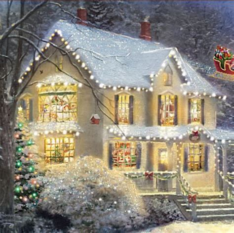 kinkade lighted pictures 17 best ideas about kinkade disney on