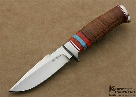 leather knife handle 2 3 2014 jerry leather stacked fixed blade
