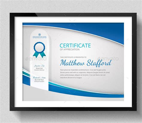 Sports Certificate Templates   Free Word, PDF Documents