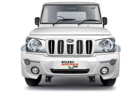 mahindra bolero mileage per litre mahindra bolero maxi truck plus price list features specs