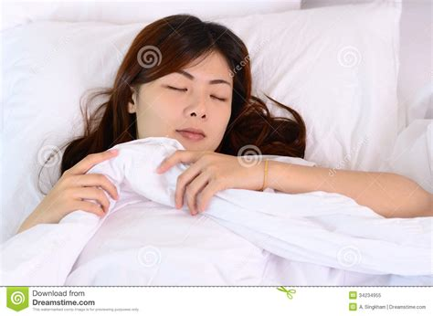 sleeping in asia asian woman teenager sleeping and relaxation royalty free