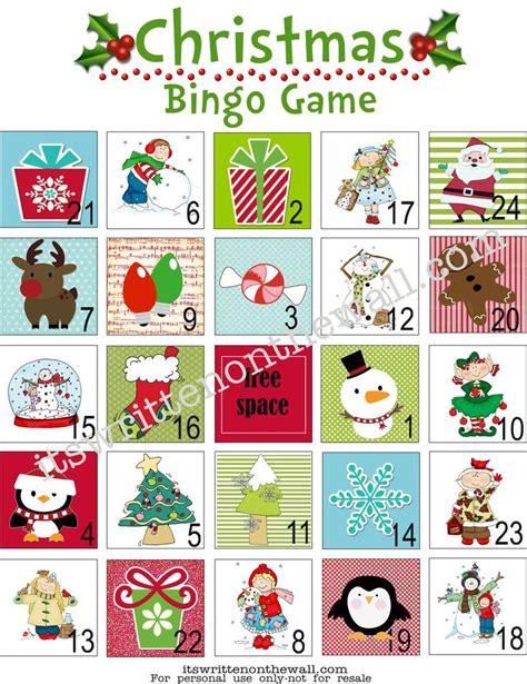 printable christmas bingo games are the kids bored print off this free christmas bingo