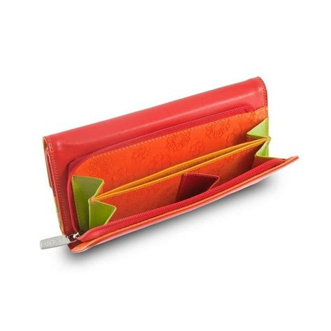 colorful wallets dudubags wallet colorful falkland genuine leather