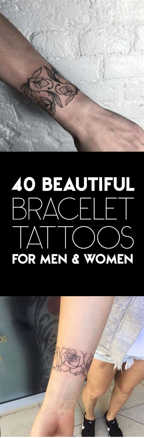 bracelet tattoos for men 17 best ideas about bracelet tattoos on wrist