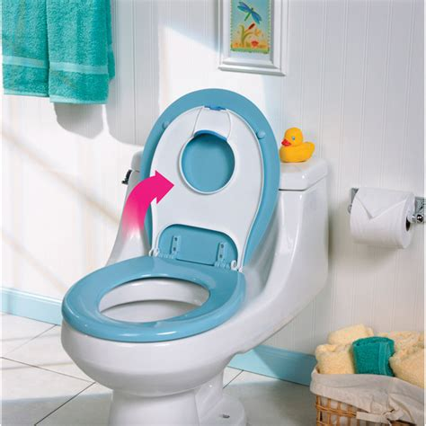 flip toilet potty seat for toilets by safety 1st