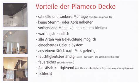 plameco spanndecken plameco decken produktbeschreibung