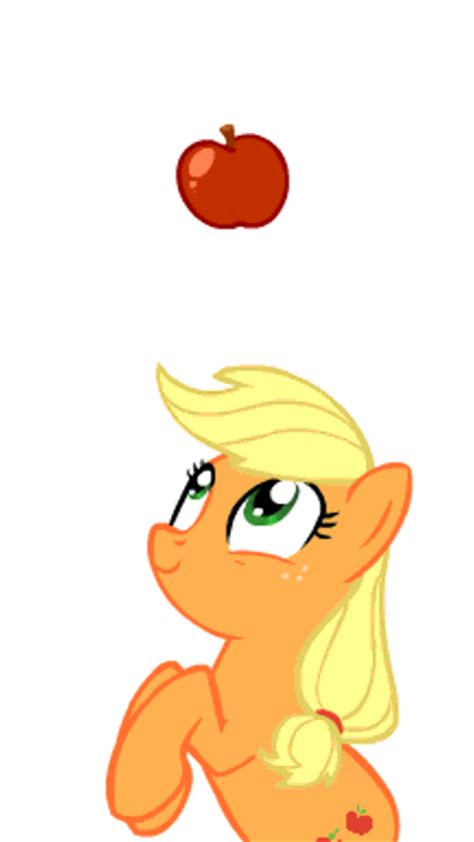 imagenes de apple jack de my little pony my little pony gifs animados de applejack en my little pony