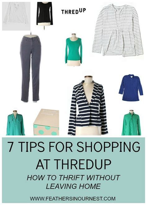7 Tips For Thrift Shopping by Tips For Shopping At Thredup Thrift Without Leaving Home