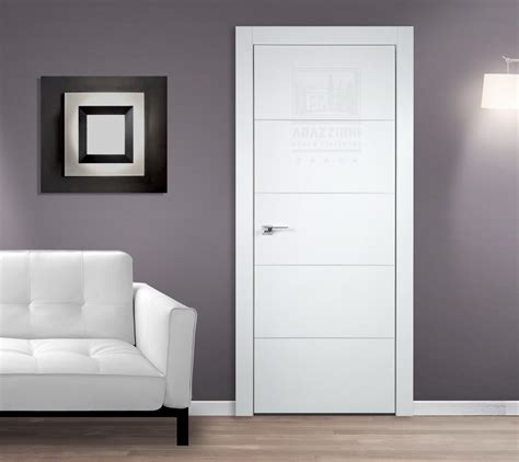 Interior Doors Contemporary Arazzinni Smartpro 4h Polar White Modern Interior Door Institute Modern