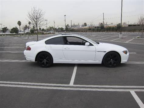 matte white bmw matte white bmw 650i newport ca