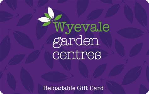 Gift Card Centre - wyevale garden centres gift card voucherline