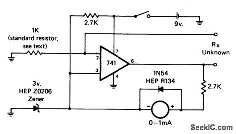 how to measure resistance pdf ohmmeter analog ohmmeter diagram