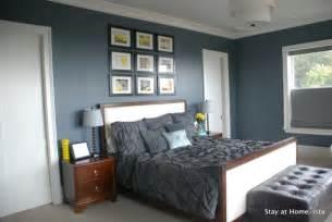 West Elm Linen Duvet Slate Blue Master Bedroom Walls Desktop Laptop Or