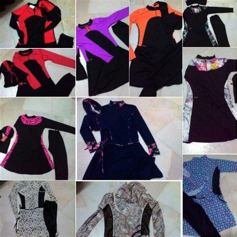 design baju renang baju renang muslimah slimfit pelbagai corak dan design