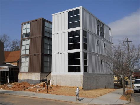 Shipping Container Apartments Second Shipping Container House Runkle Consulting Inc