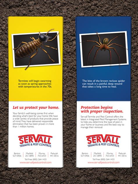 servall pest control don t graphic and website design development helix creative