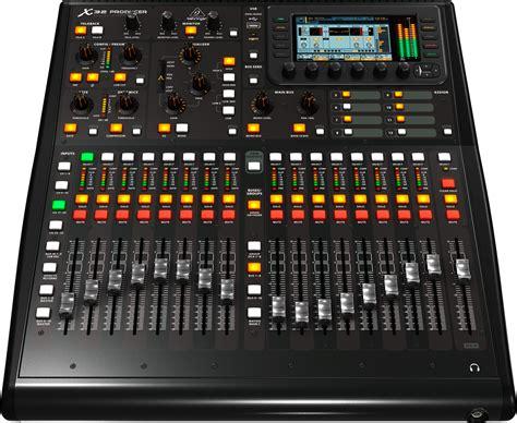 Mixer Behringer X32 behringer x32 producer 40 input 25 rack mixer