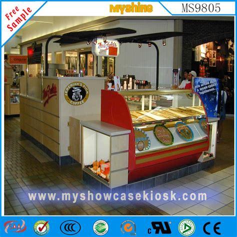 Sle Letter For Kiosk Customized Shopping Mall Fast Food Kiosk For Sale Ms9805 Food Kiosk Manufacturer Eyebrow Kiosk