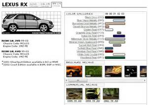 paint code location toyota paint free engine image for