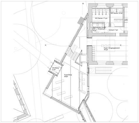 jewish museum berlin floor plan gallery of felix nussbaum museum daniel libeskind 16