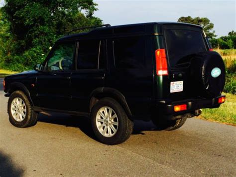 2000 land rover green sell used land rover discovery 2000 green tan leather 140k