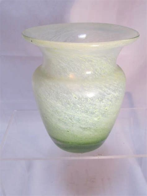 Vaseline Vase by Antique Vaseline Glass Vase From Thesteffencollection On