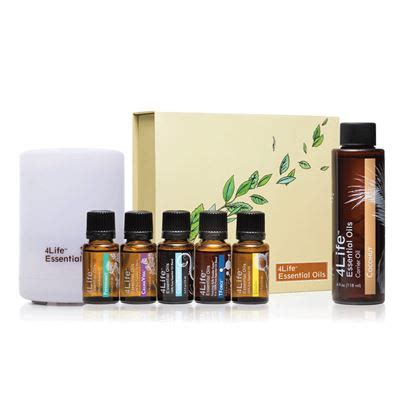 4life Detox Kit by Essential Oils Kit W Diffuser 4life Transfers Transfer