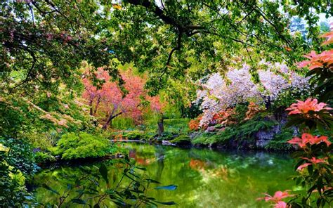 wallpaper abyss spring beautiful garden wallpaper and background 1440x900 id