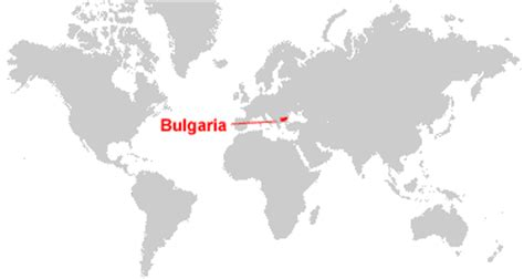 bulgaria on a world map bulgaria map and satellite image