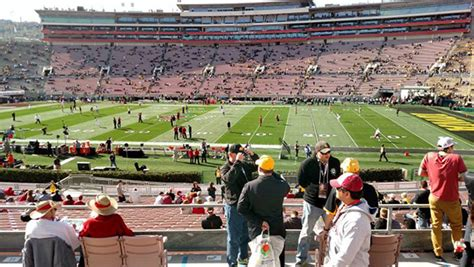 rose bowl section 6 l where are the best places to sit at the pasadena rose bowl