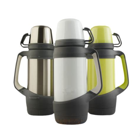Thermos Jug And Cool 15 Lt Silver Home Line 1000ml belly stainless steel mug thermos vacuum flask large capacity travel kettle drink bottle