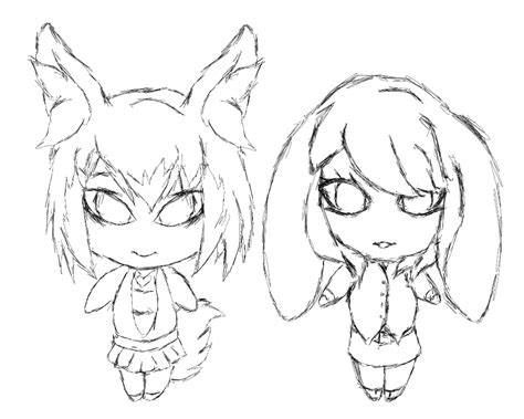 Kyrie 4 Sketches by Chibis Kyrie Sketch By Narszodh On Deviantart