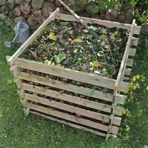 start a compost pile to help your garden grow