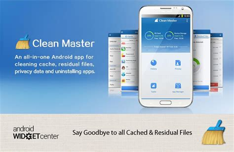 cache cleaner for android clean master android cache cleaner aw center