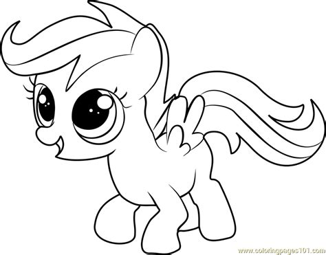 my little pony scootaloo coloring page scootaloo coloring page free my little pony friendship