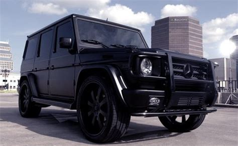 mercedes g class blacked out mercedes g class black on black mario