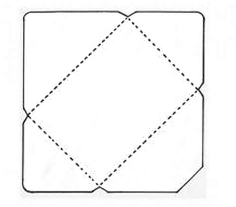 How To Make A Simple Envelope Out Of Paper - 1000 ideas about envelope templates on paper