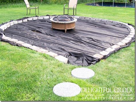 delightful order creating  backyard fire pit