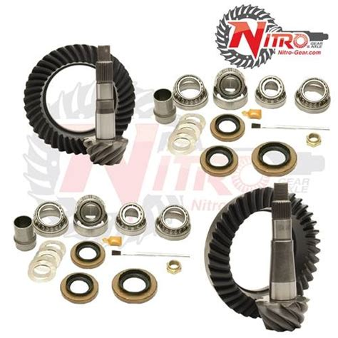 Jeep 4 56 Gears Nitro Front Rear Gear Package Kit
