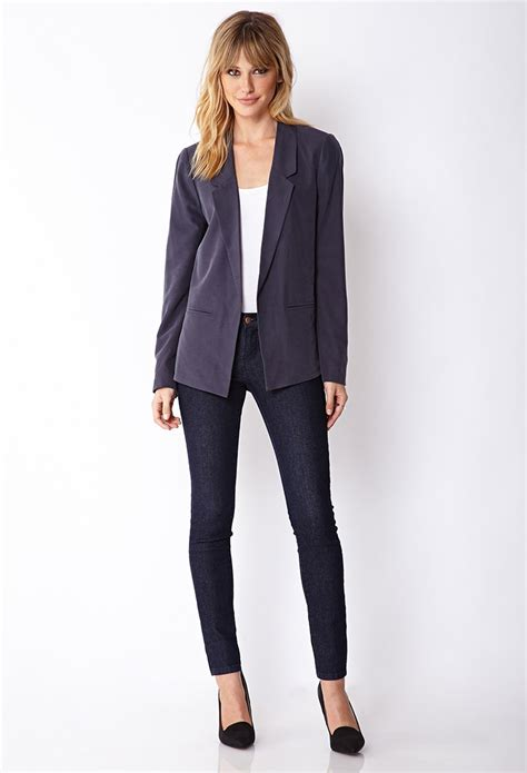 Forever 21s Luxe Big Twelve By Twelve Is Here by Forever 21 Contemporary Luxe Menswear Inspired Blazer In