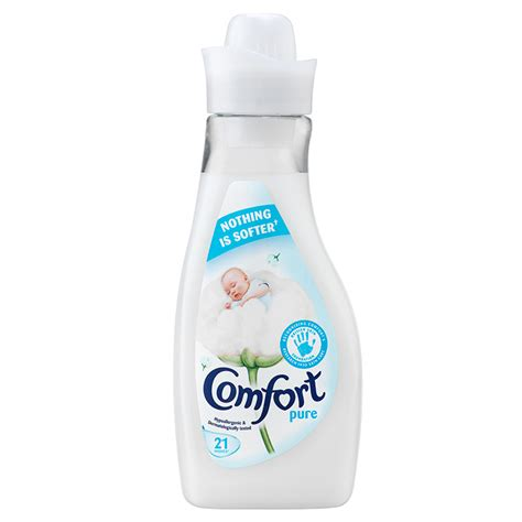 fabric softener comfort comfort pure fabric conditioner 21 wash 750ml fabric