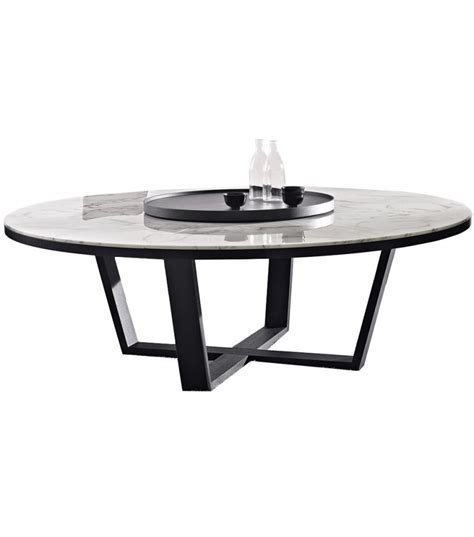 tavoli maxalto xilos tavolo rotondo con piano in marmo maxalto milia shop
