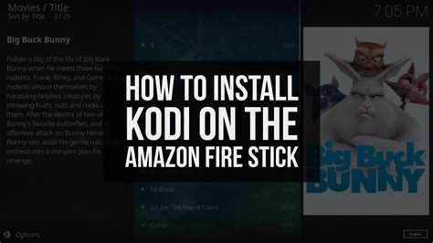 how to install kodi on firestick 2018 learn how to install kodi on your stick jailbreak a firestick live tv and much more with simple step by step books how to install kodi 17 6 on a firestick without a pc in 2