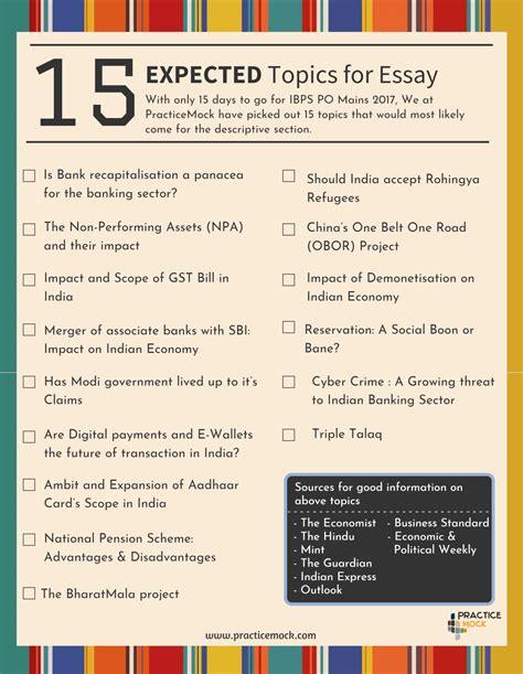 essay writing topics in bank essay topics for bank exams mistyhamel