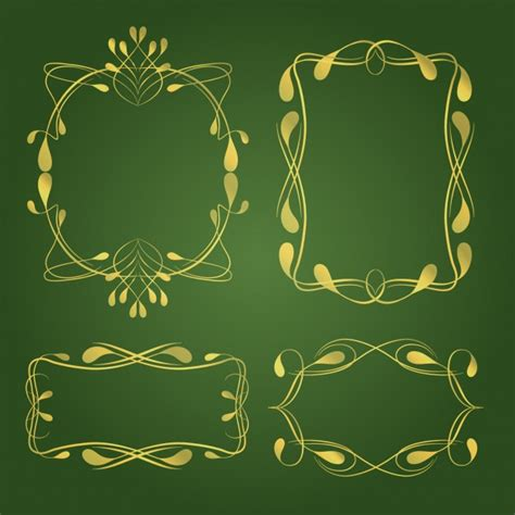 ornaments collections decorative ornaments collection vector free