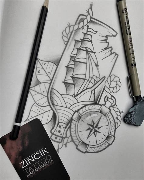 ship in a bottle tattoo martin tattooer zincik ship in bottle by zincik